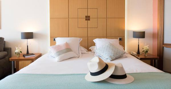 Deluxe Rooms With Sea Or Garden Views Les Flamants Roses
